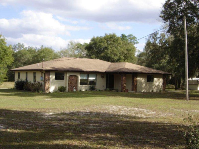 Dunnellon Home And Acreage : Dunnellon : Citrus County : Florida