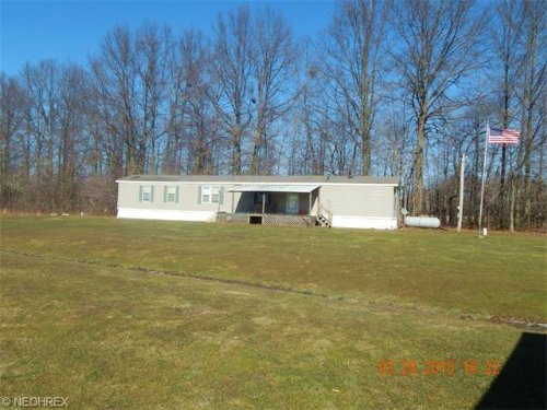 Modular Home On 12+ Acres : North Bloomfield : Trumbull County : Ohio