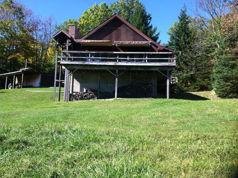 Home Near Hornell & Alfred 100 Acre : West Almond : Allegany County : New York