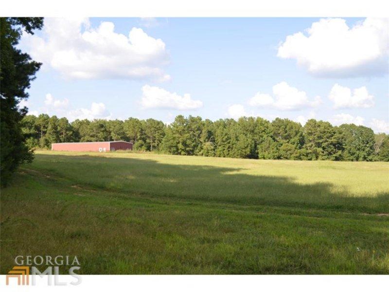 42.62 Acres With 100x50 Building : Social Circle : Walton County : Georgia