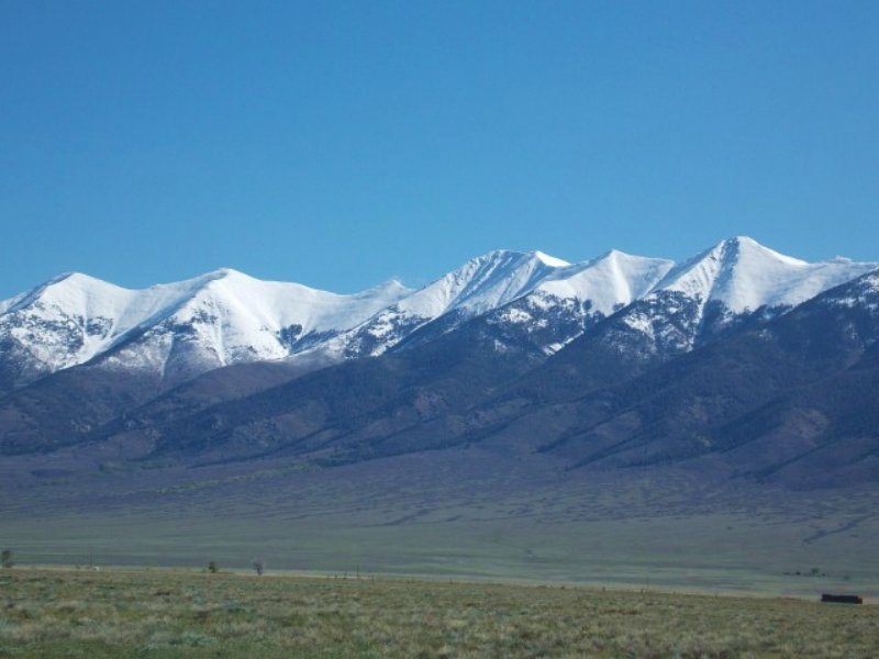 64.38 Acres Horse Farm Land : Villa Grove : Saguache County : Colorado