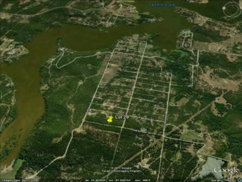 .17 Acre Lot Frontier Shores Sub : Bowie : Montague County : Texas
