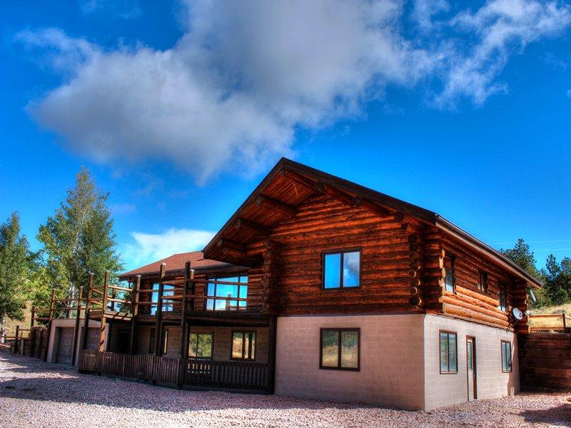 Log Home, 40 Acres, Arena : Newcastle : Weston County : Wyoming