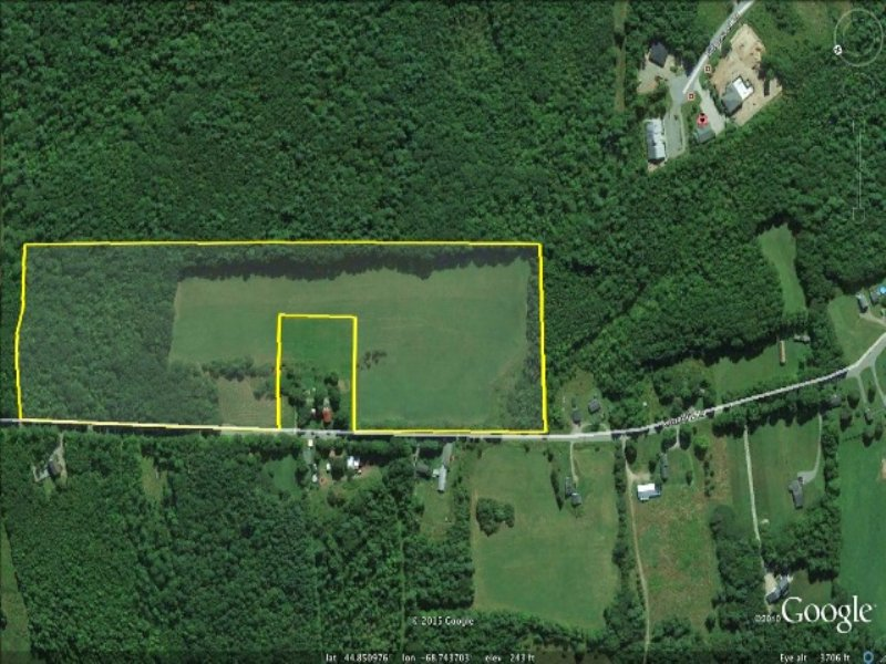 Unmatched Acreage In Bangor : Bangor : Penobscot County : Maine