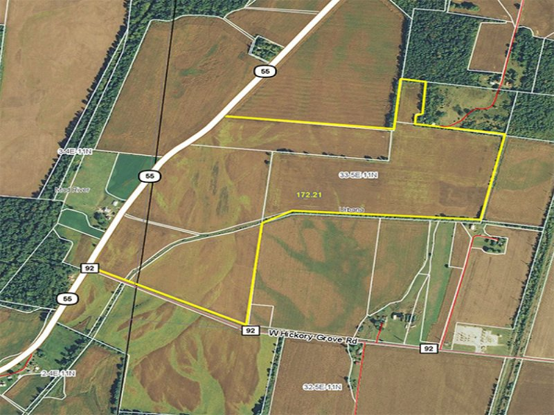 174 Acres Farmland : Urbana : Champaign County : Ohio