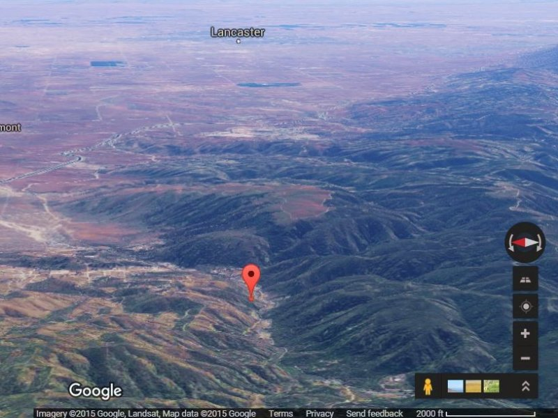 5 Acres Of Scenic Land 4 Sale : Lancaster : Los Angeles County : California