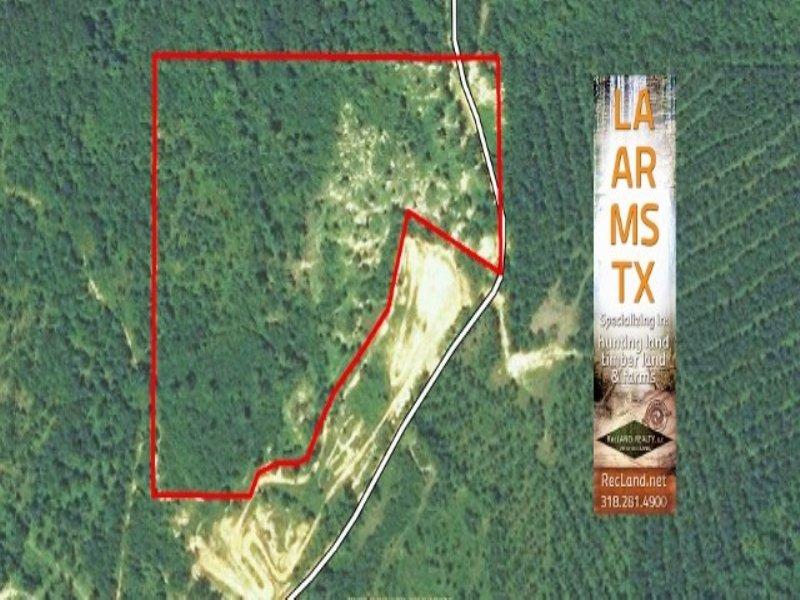 22.20 Acres Hunting Land, Timber : Sikes : Winn Parish : Louisiana