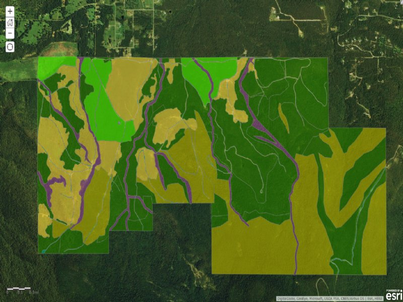 Cavanal Hill Tracts : Poteau : Le Flore County : Oklahoma