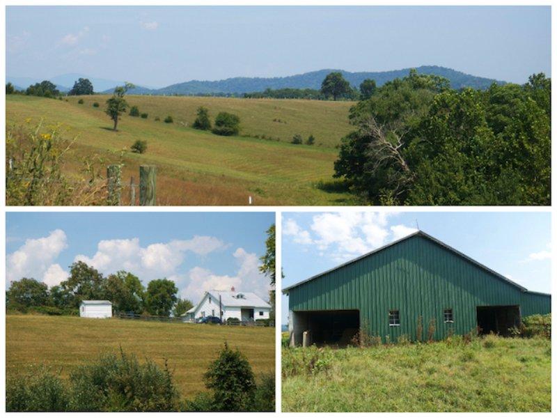 3br Home On 20 Acres : Sperryville : Rappahannock County : Virginia