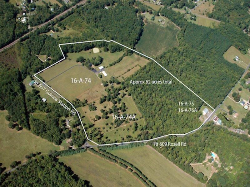 62 Ac Farm W/3br Home, Barn & More : Woodford : Caroline County : Virginia