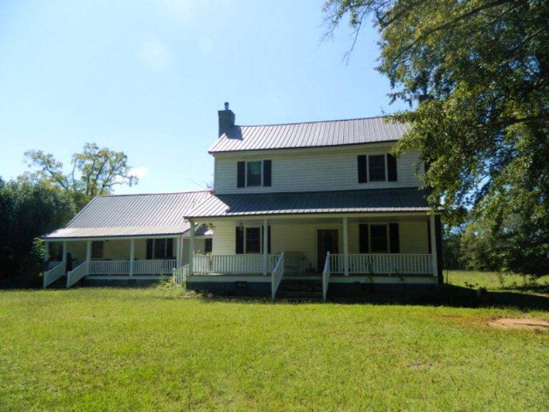 Country Farm House On 15.42 Acres : Carlton : Oglethorpe County : Georgia