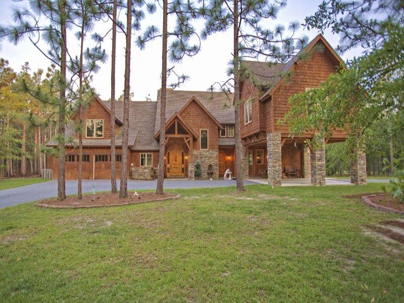 100 Ac & Co. Mountain-style Home : Vidalia : Montgomery County : Georgia