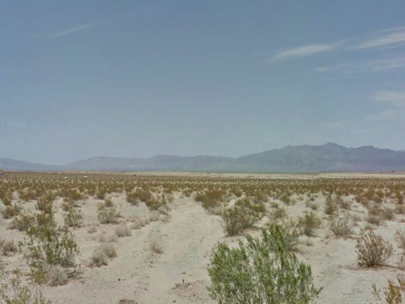 5 Acre Residential Lot 4 Sale : Twentynine Palms : San Bernardino County : California