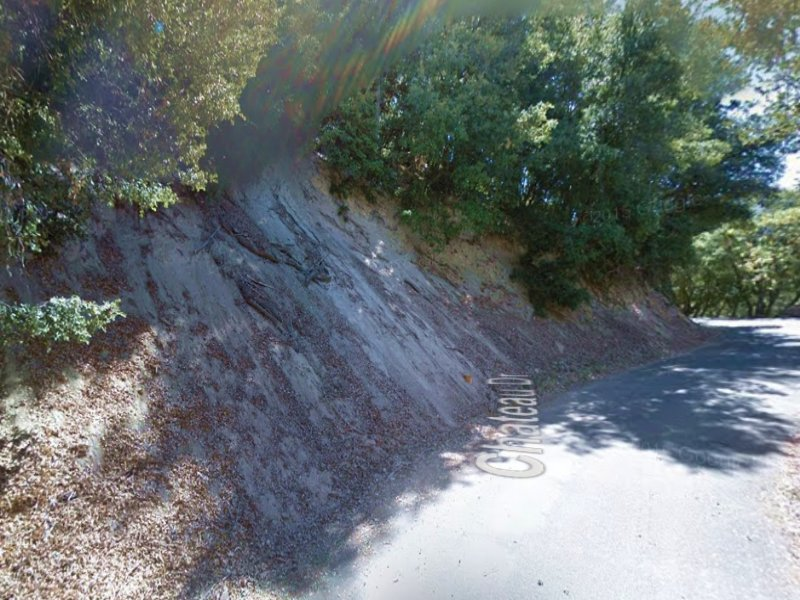 Lot W/ Road Access Near Lake Gregor : Crestline : San Bernardino County : California