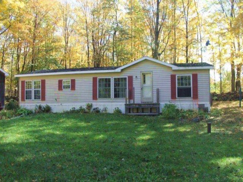 House With Barn Near Salmon River : Williamstown : Oswego County : New York
