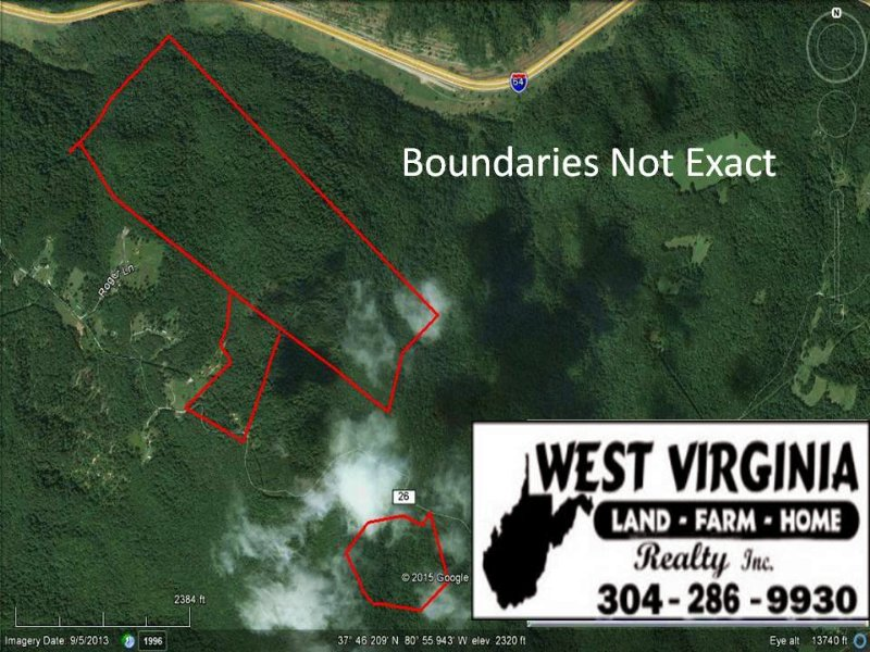 247+/- With Great Hunting : Shady Spring : Raleigh County : West Virginia
