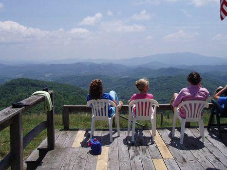 Top of the Mountain : Lansing : Grayson County : Virginia