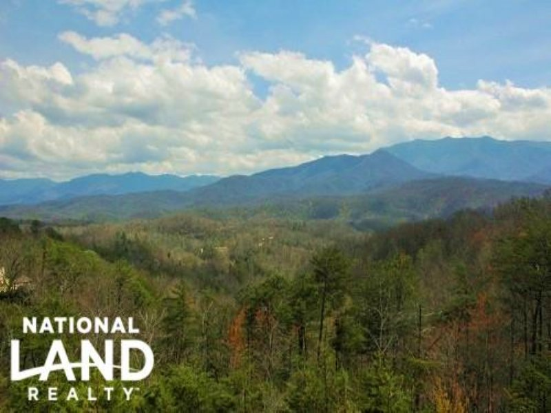 Mountain View Cabin Homesite-Lot B : Gatlinburg : Sevier County : Tennessee