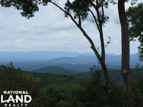 Elevated Mountain Homesite : Ellijay : Gilmer County : Georgia
