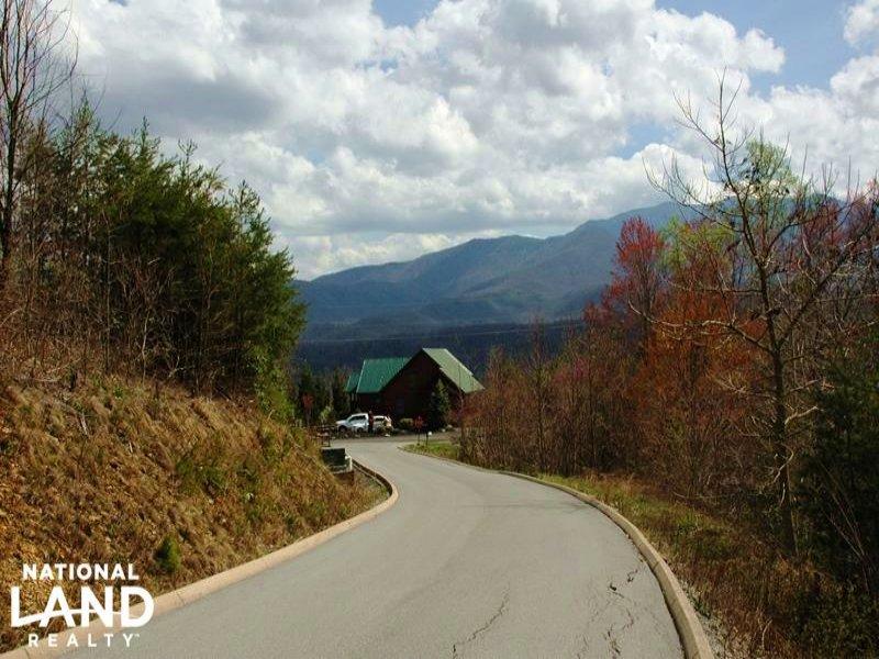 .41 Acre Mountain Cabin Homesite : Gatlinburg : Sevier County : Tennessee