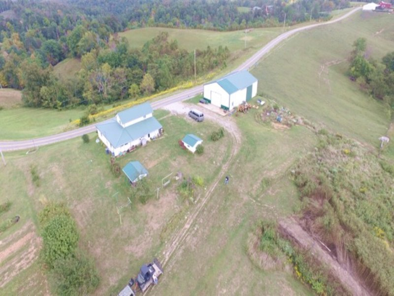 Oh 790 - 72 Acres : Scottown : Gallia County : Ohio