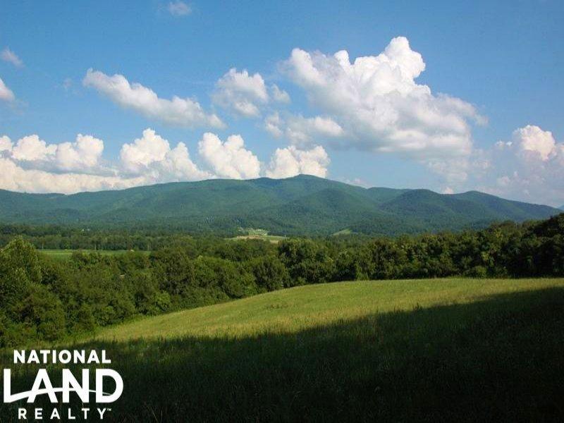Scenic Cosby Farm : Cosby : Cocke County : Tennessee