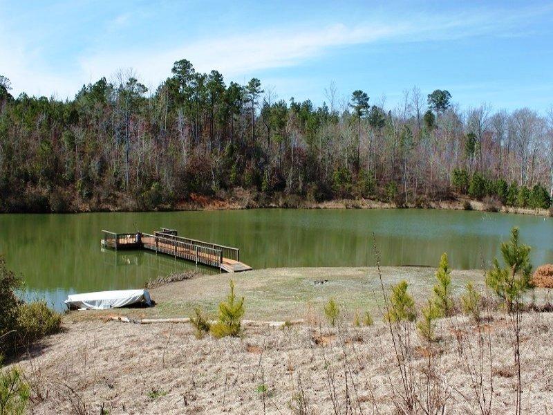 Lakefront Recreational Land : Moundville : Hale County : Alabama
