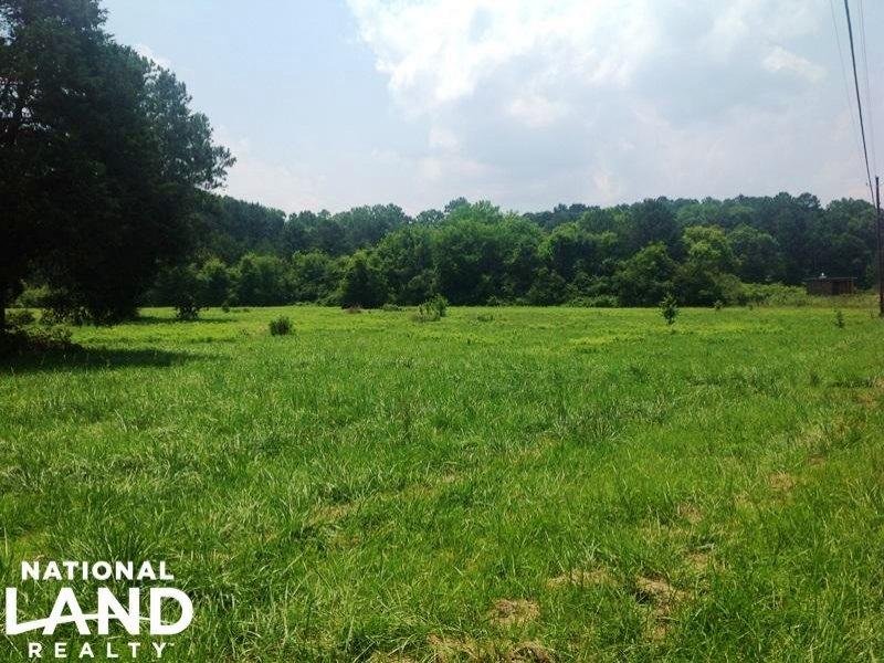 Recreational Farmland Tract : Cedartown : Polk County : Georgia