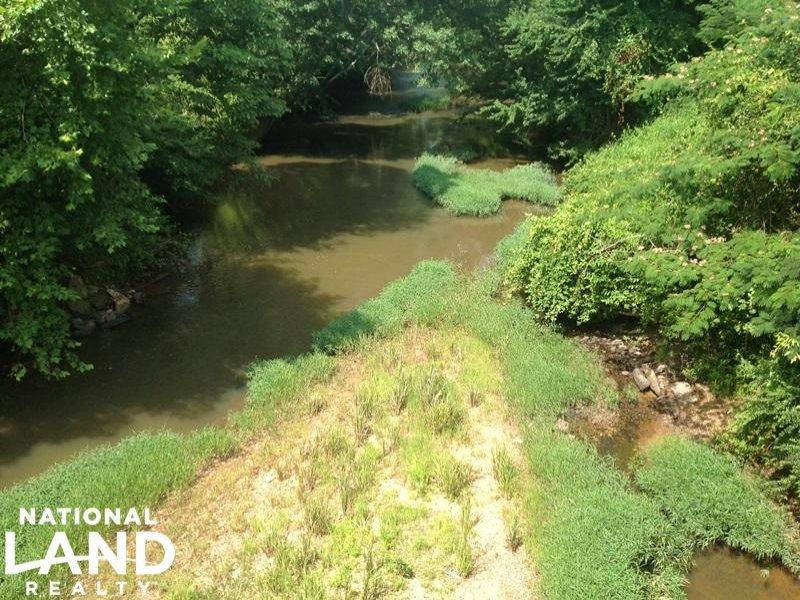 River Frontage Recreational Land : Buchanan : Haralson County : Georgia