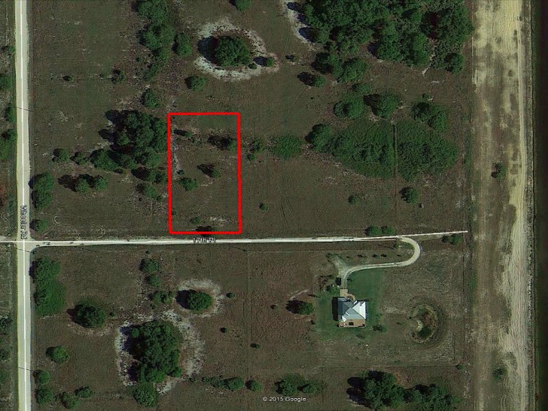 1.25 Residential Lot Near Fort Myer : Labelle : Hendry County : Florida
