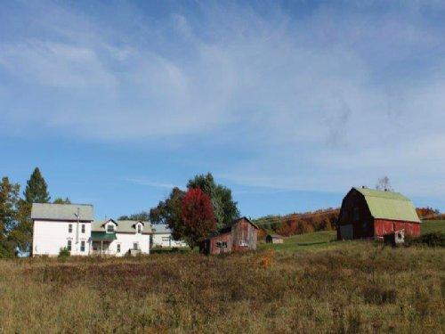 Farmland Farmhouse Barn 10 Acres : Florence : Oneida County : New York