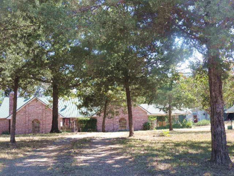 Home On 7+ Acres (#29504) : Idabel : McCurtain County : Oklahoma