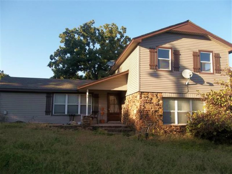 3 Bed Home On 5 M/l Acres : Tahlequah : Cherokee County : Oklahoma
