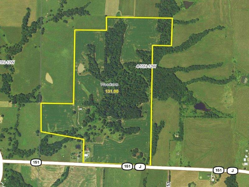 131 Acres : Madison : Monroe County : Missouri
