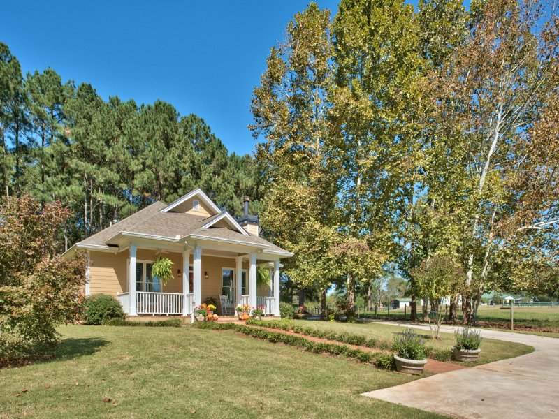 Charming Home On Turnkey Farm : Monroe : Walton County : Georgia
