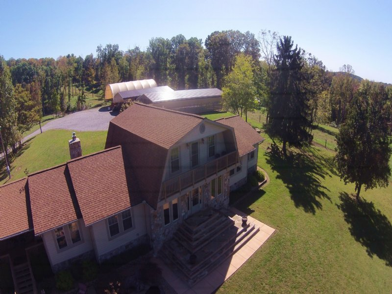Country Farm Of Your Dreams : Russellville : Hamblen County : Tennessee