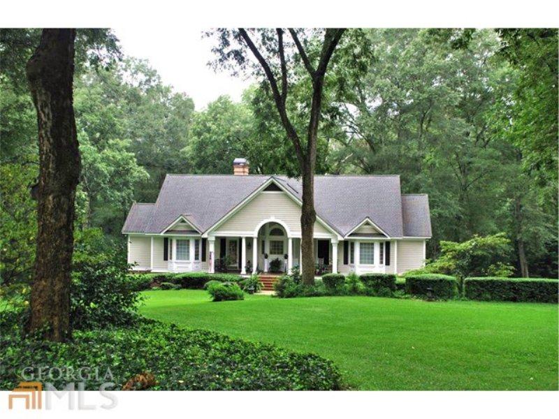 7.5 Ac & Home In Historic District : Greensboro : Greene County : Georgia
