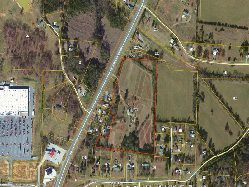 Hwy 113, 17.34 Acres : Rockmart : Polk County : Georgia
