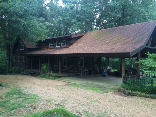 Beautiful Log Home With Huge Shop : Paragould : Greene County : Arkansas