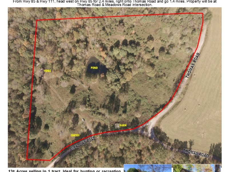 13± Ac In 1 Tract W/ Outbuildings : Livingston : Overton County : Tennessee