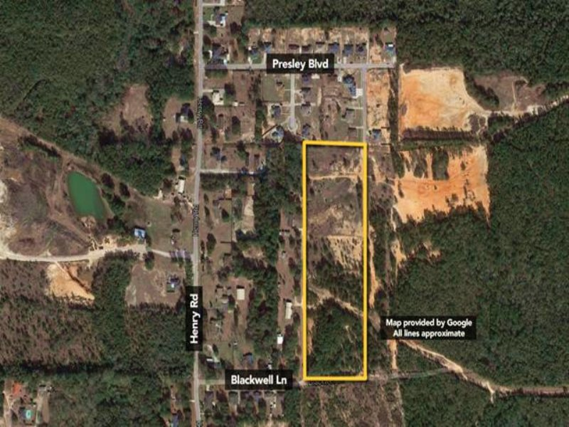 Approx 17.92 Acres Of Residentia : Mobile : Mobile County : Alabama
