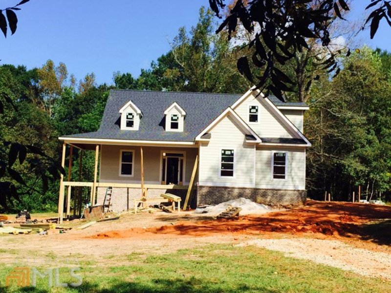 New Construction Cape Cod 4.55 Acre : Monroe : Walton County : Georgia