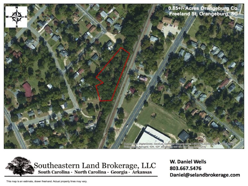 0.85 Acres In Orangeburg : Orangeburg : Orangeburg County : South Carolina