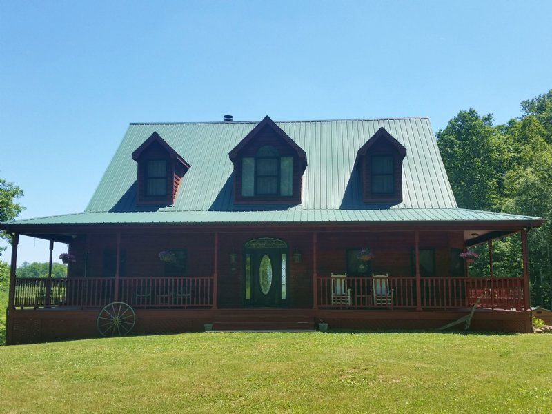 Like New Home On 62 Acres : New Tazewell : Claiborne County : Tennessee