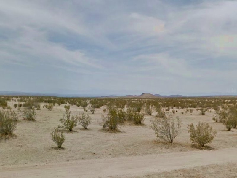 Residential Parcel, W/road Access : California City : Kern County : California