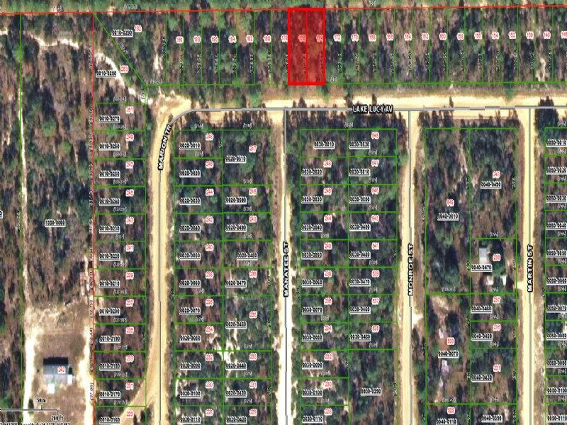 2 Buildable Adjacent Lots Fsbo : Interlachen : Putnam County : Florida