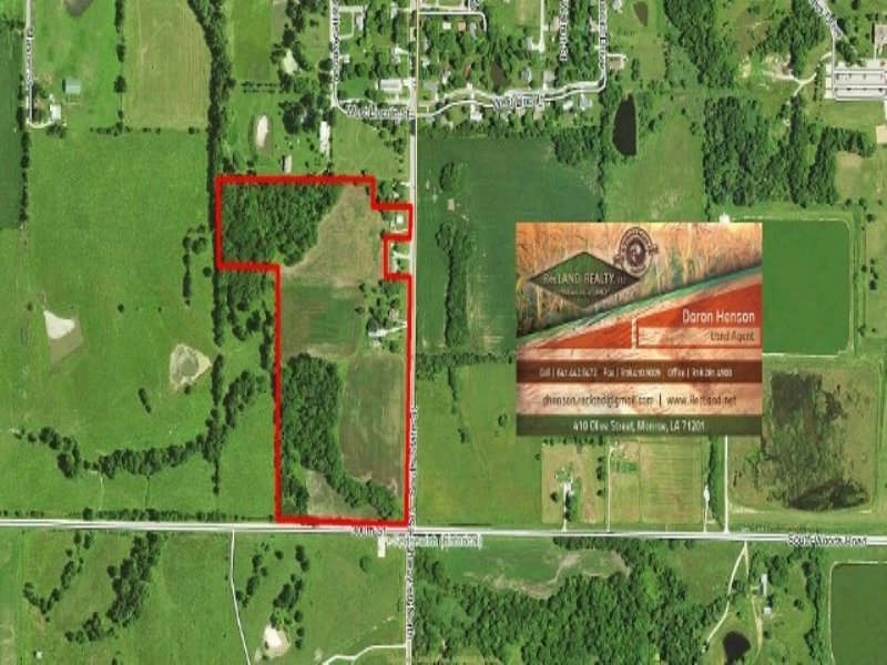 31.00 Acres Recreation Land : Lamoni : Decatur County : Iowa