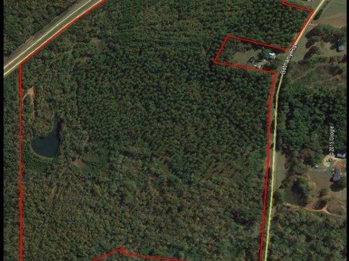 131.73+- Acres On Highway 441 : Madison : Morgan County : Georgia