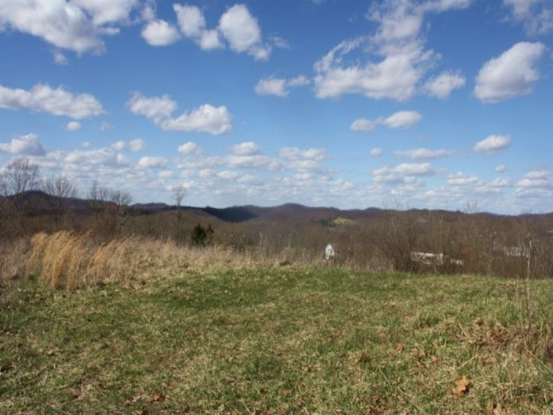 49.19 AC Vacant Land-Great Hme Site : Maysel : Clay County : West Virginia