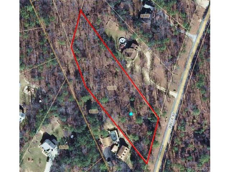 1.29 Acres On Wooded Lot : Chesterfield : Chesterfield County : Virginia